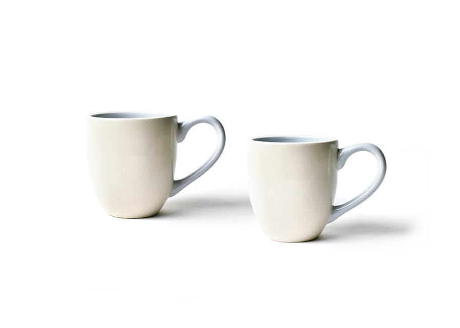 Ecru Mr. and Mrs. Mugs, Set of 2
