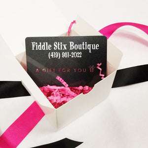 Gift Card for Fiddle Stix Retail Stores