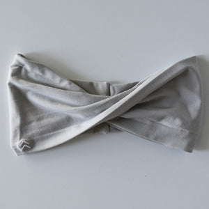 Twist Headband | Glacier Gray