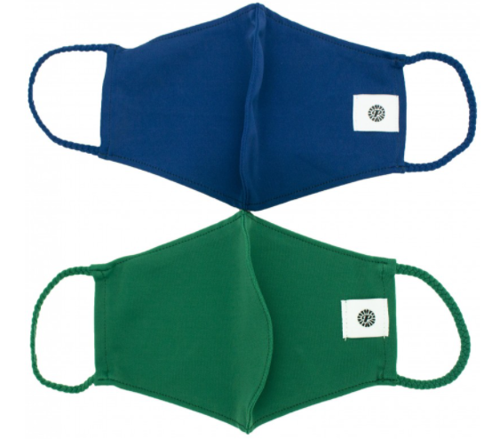 2 Pack Pom Masks | Bottle Green & Navy