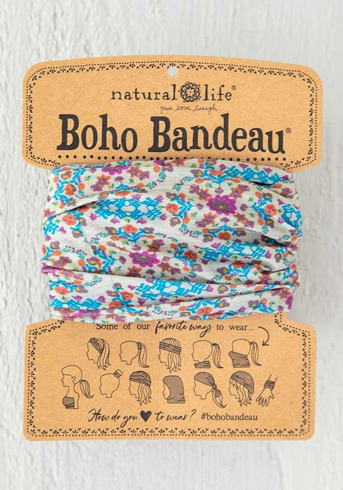 Boho Bandeau | Grey Flower Stamp