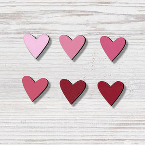 Heart Ombre Magnets