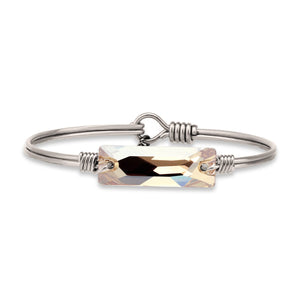 Hudson Bangle Bracelet In Champagne