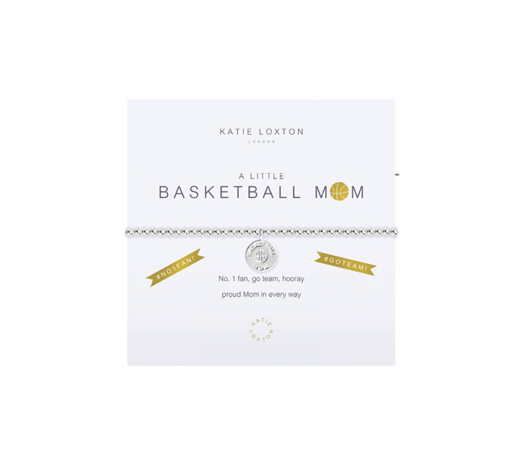 A Little Basketball Mom Bracelet