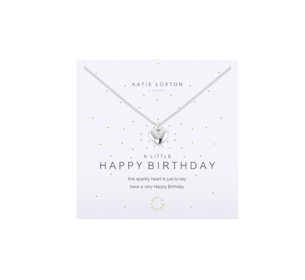 A Little Happy Birthday Necklace