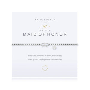 A Little Maid of Honor Bracelet