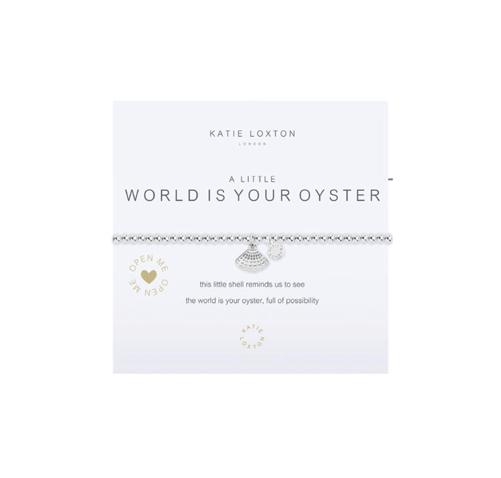 World is Your Oyster Bracelet