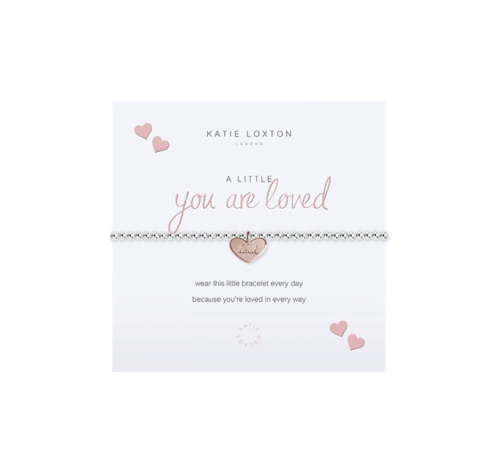 A Little You are Loved Bracelet