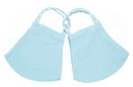 2 Pack Pom Masks | Light Blue