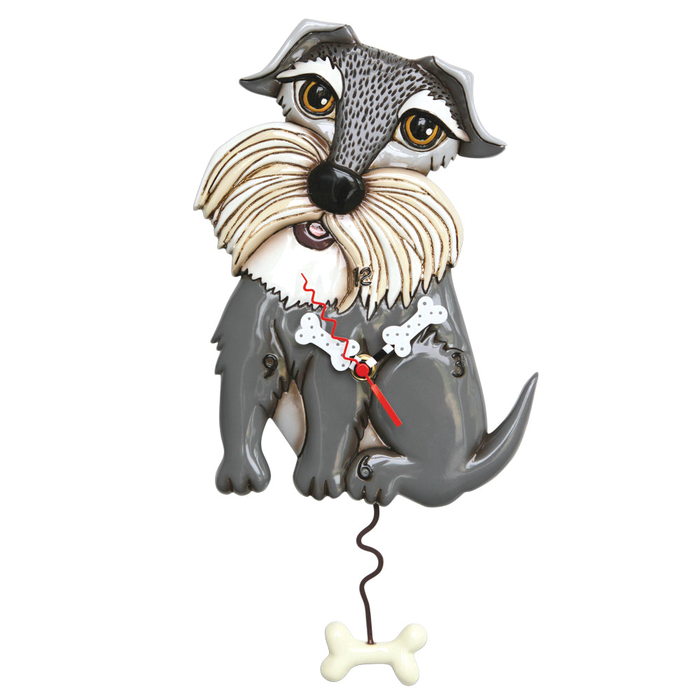 Lucy Dog Pendulum Clock