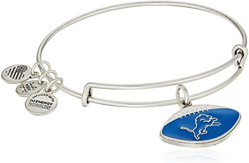 Detroit Lions NFL Charm Bangle | Silver
