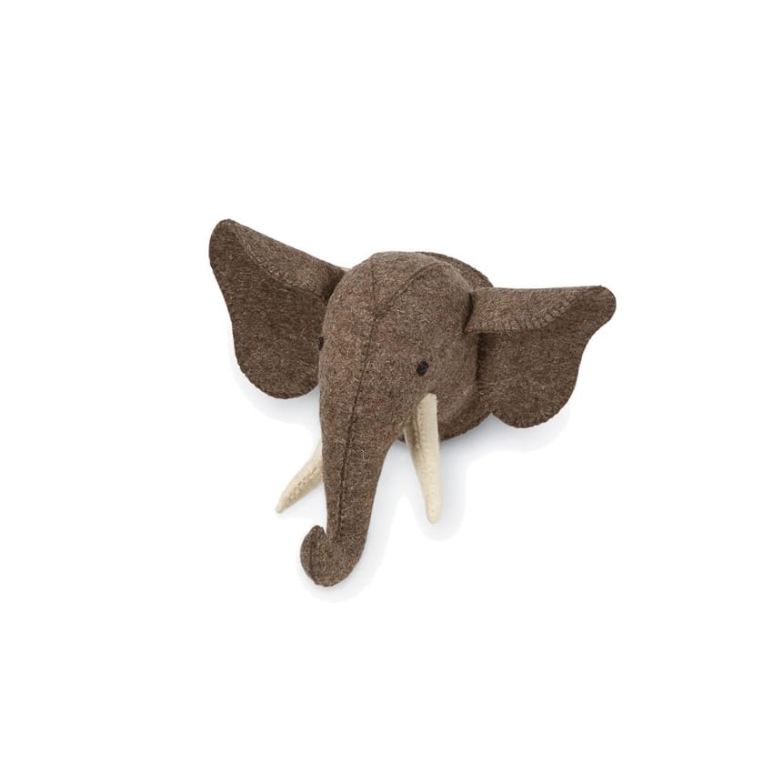 Mini Safari Wall Mount: Elephant