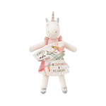 Unicorn Reading Pal | White