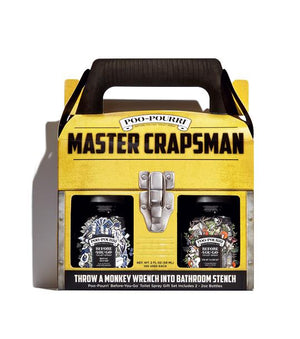 Poo-Pourri Toilet Spray | Boxed Master Crapsman Set