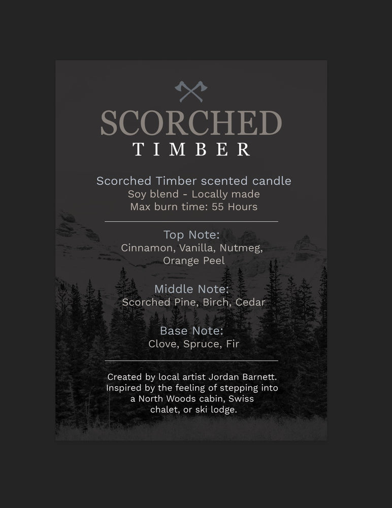 Scorched Timber Candles