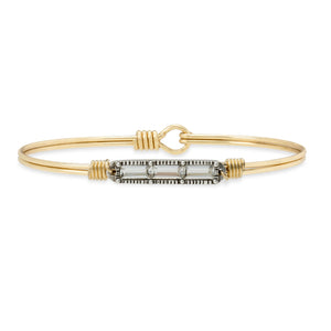 Mini Hudson Bangle Bracelet in Crystal