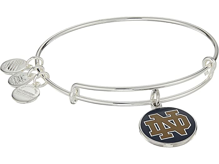 University of Notre Dame Logo Charm Bangle | Silver