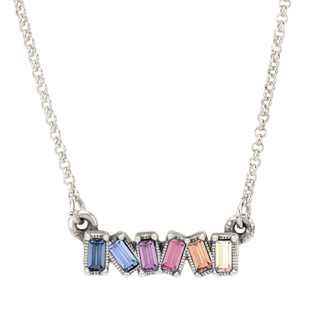 Mini Hudson Necklace in Light Ombre