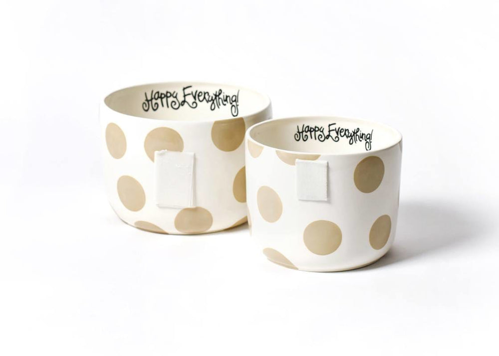 Neutral Dot Happy Everything!™ Mini Bowl