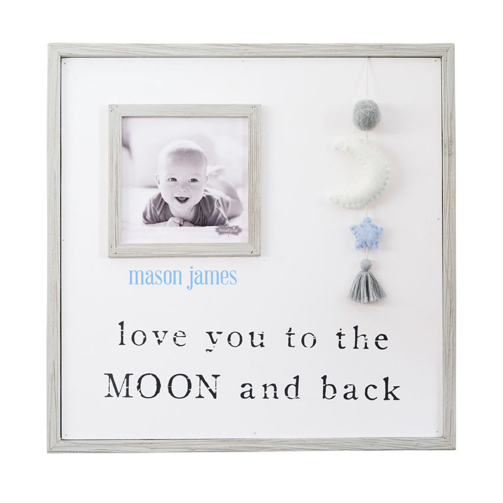 Pom Moon Blue Star Frame