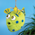 Puffer Fish Birdhouse
