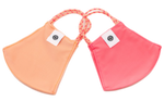 2 Pack Pom Masks | Peach