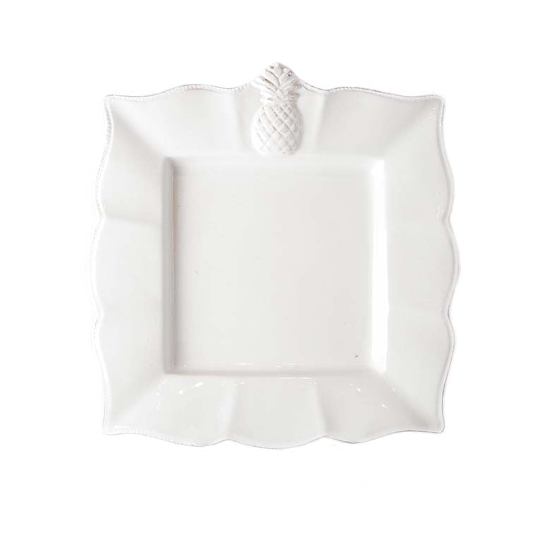 Pineapple Square Plate