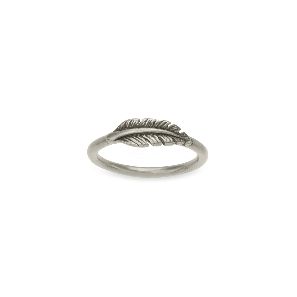 Lucky Feather Ring