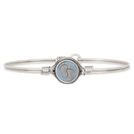 Little Footsteps Bangle Bracelet in Blue