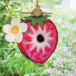 Strawberry Birdhouse