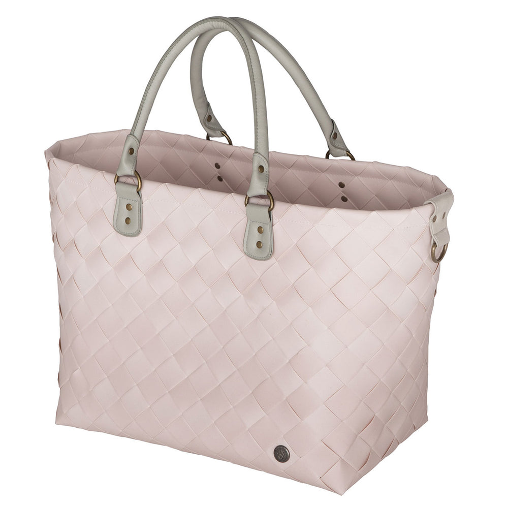 Handed By Saint-Tropez Woven Travel Bag | Nude