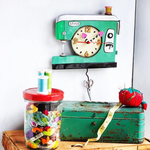 Stitch Sewing Machine Clock