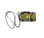 Collegiate Zip ID Lanyard Set  |  UofM