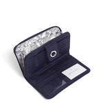 RFID Turnlock Wallet | Classic Navy
