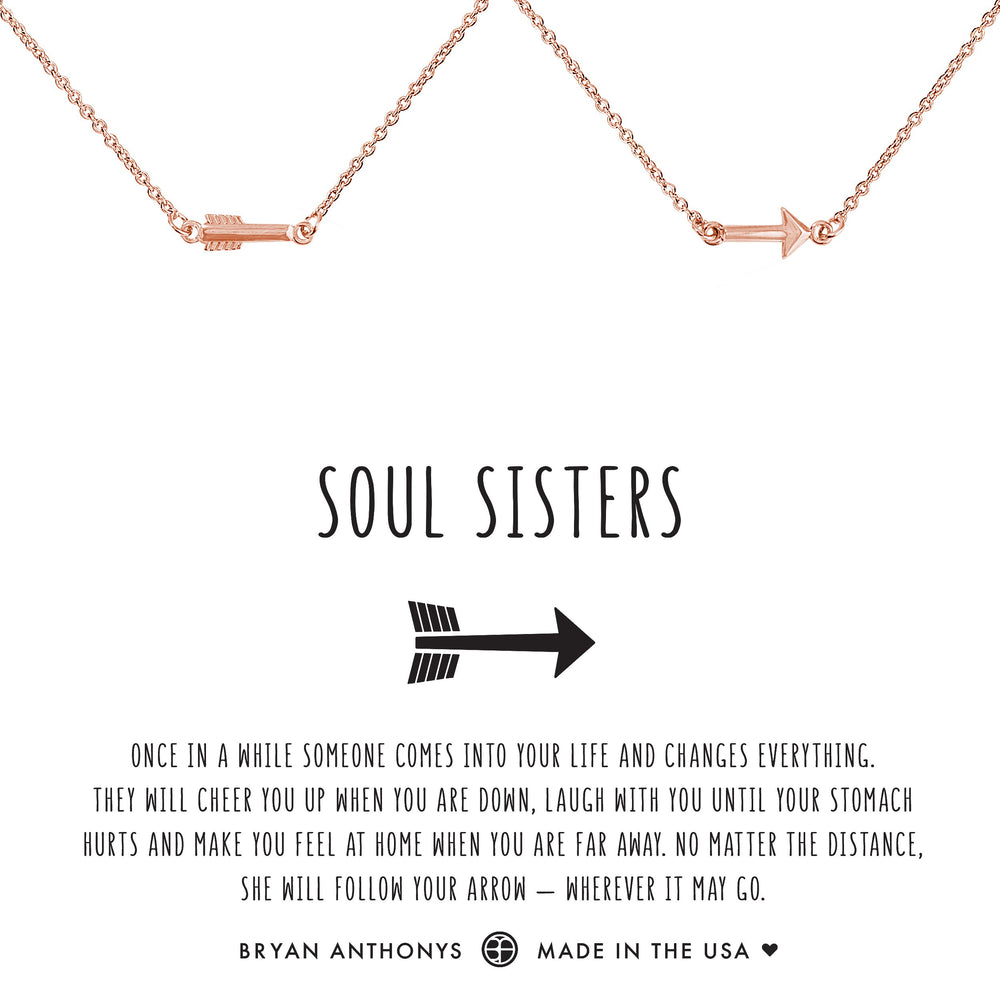 Soul Sisters Arrow Necklace