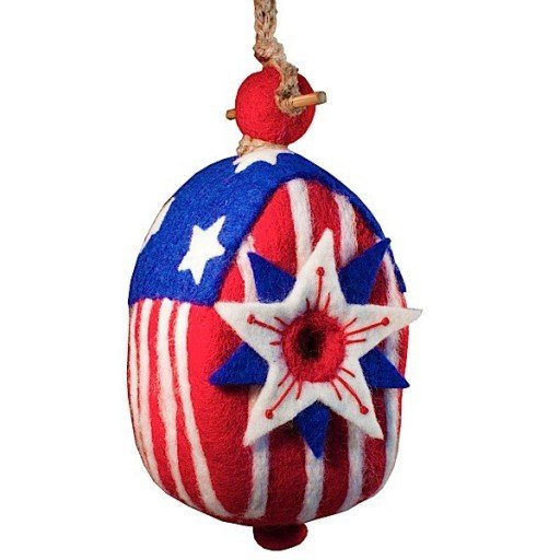 Stars and Stripes Birdhouse