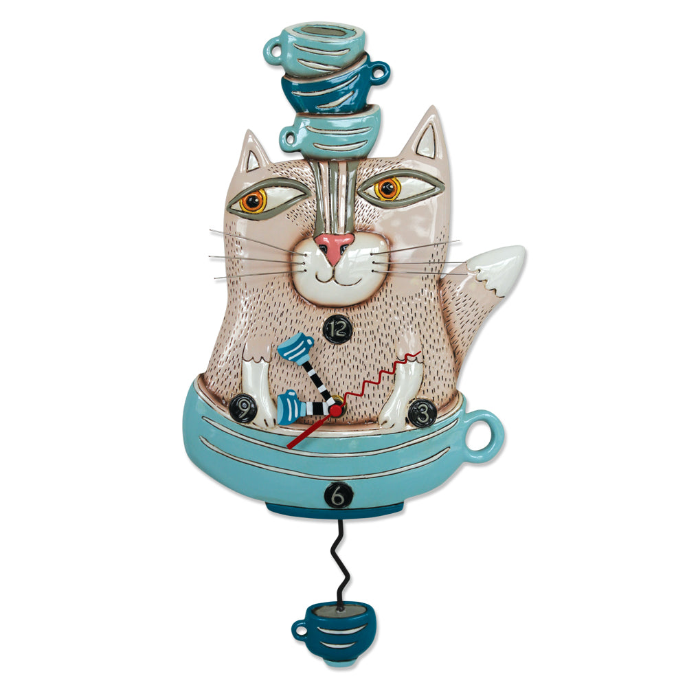 Teacat Pendulum Clock