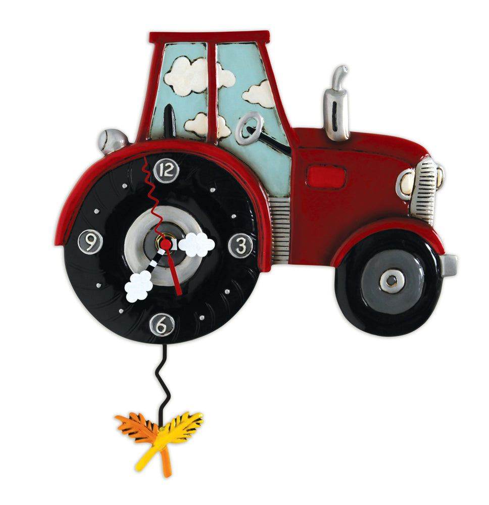 Tractor Time Pendulum Clock