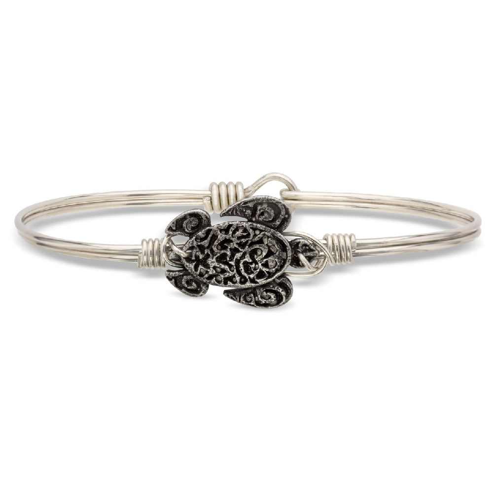 Sea Turtle Bangle Bracelet