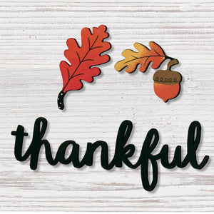 """Thankful"" W/Fall Magnets"