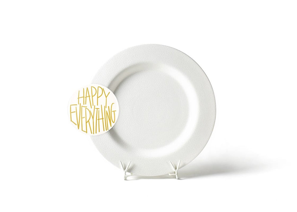 White Small Dot Big Entertaining Round Platter