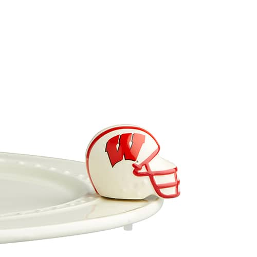 Nora Fleming U Wisconsin Helmet Mini