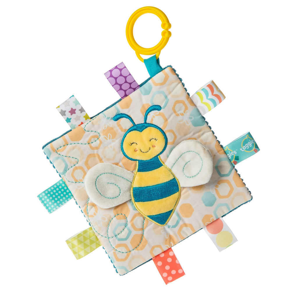 Taggies™ Crinkle Me Square | Fuzzy Buzzy Bee