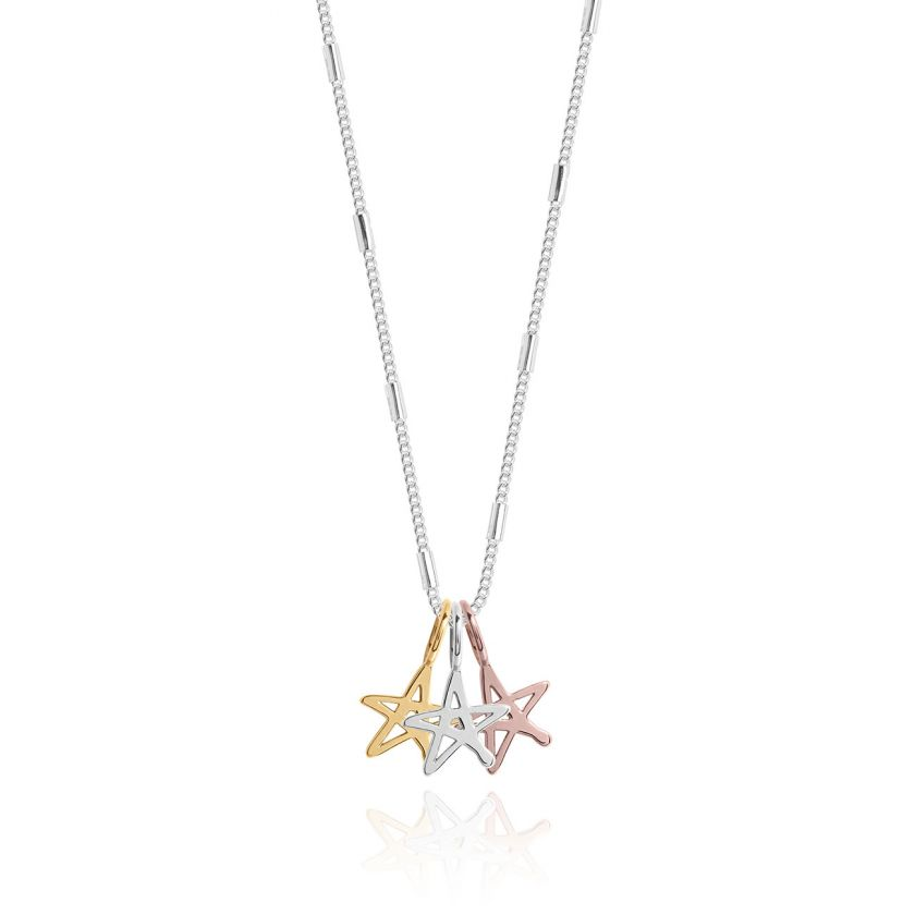 Florence Outline Star Necklace
