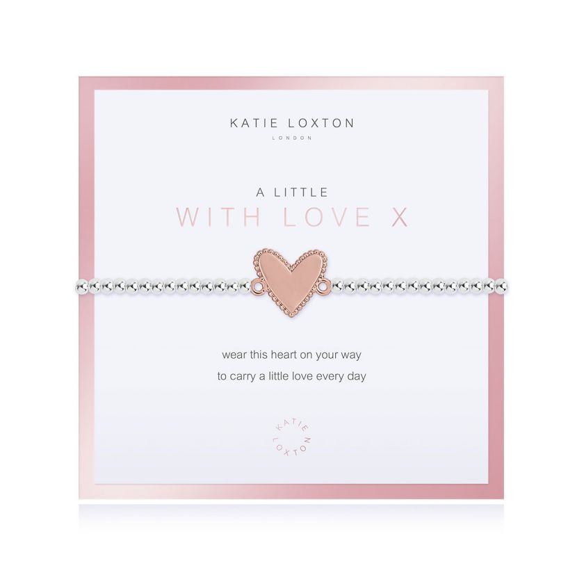 Beautifully Boxed A Little With Love Bracelet