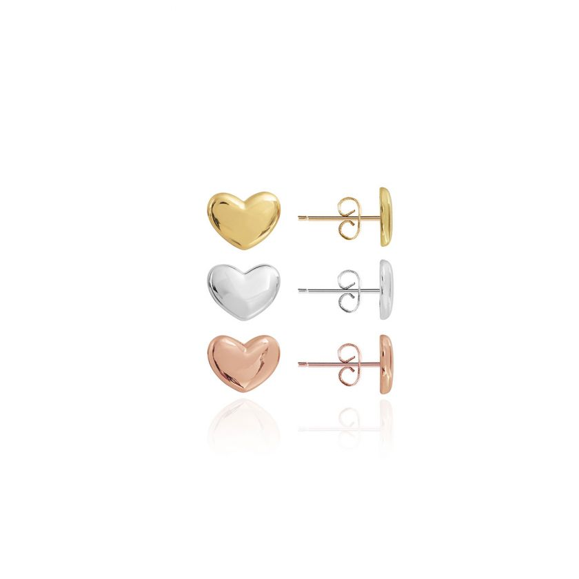 Florence Heart Earrings | Set Of 3