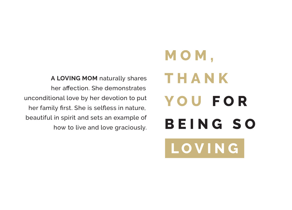 Mother's Day Gift Set | Loving