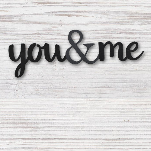 You & Me Magnet