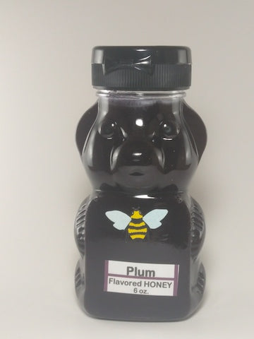 Plum Flavored Honey