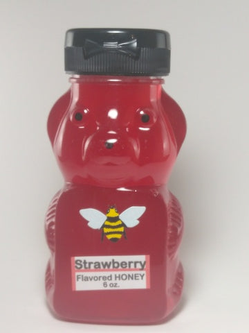 Strawberry Flavored Honey